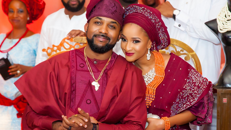 Banky W and Adesua Etomi arrested hearts with their love story in 2017. It's still ongoing. [Credit: Mayonikks]