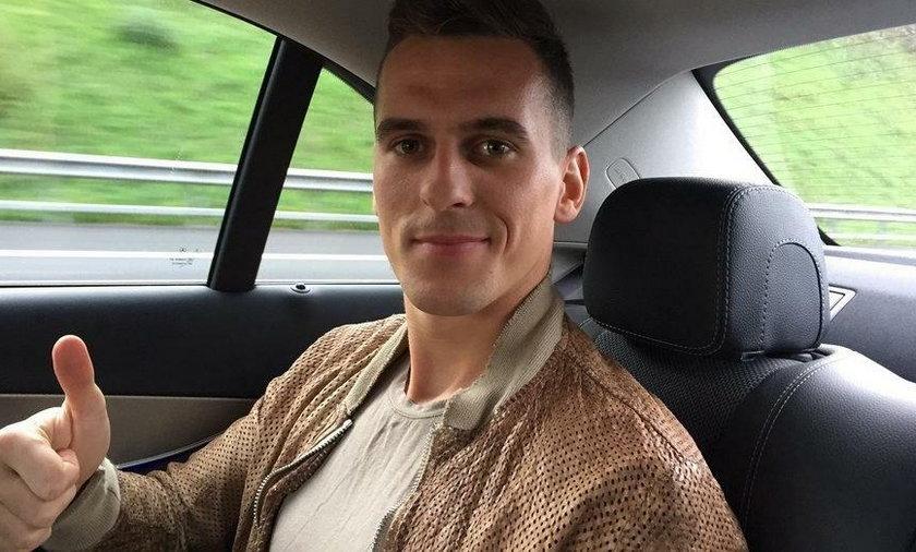 Polski piłkarz już trenuje po ciężkiej kontuzji