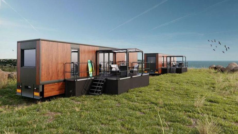 Wrocławianin stworzył mobilne hotele