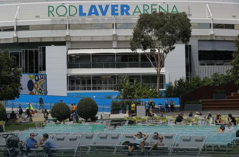 """Pogled na centralni stadion Australijan opena, """"Rod Lejver arenu"""""""