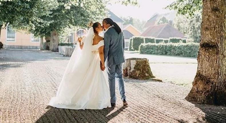 Rapper Navio weds longtime girlfriend in exquisite affair