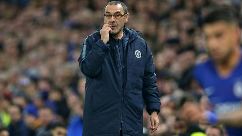Chelsea boss Maurizio Sarri is under fire after his row with Kepa Arrizabalaga