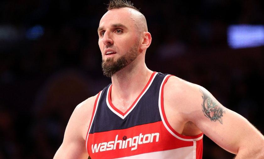 Słaby występ Gortata w meczu Washington Wizards - Charlotte Hornets