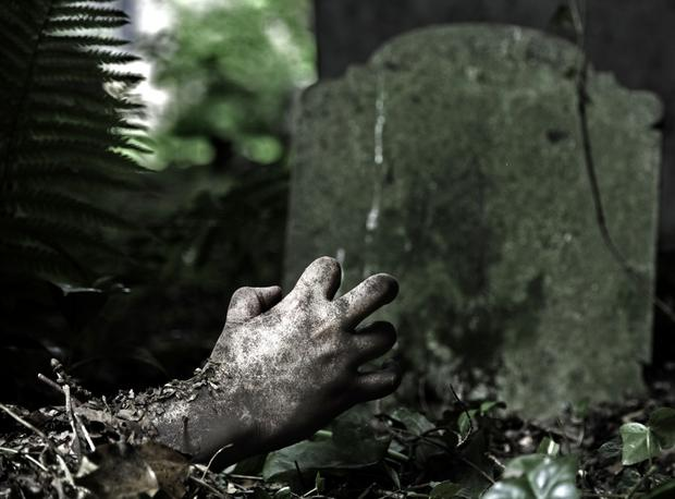 Cmentarz i zombie