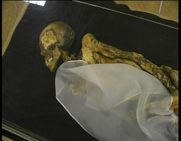 Posmrtni ostaci sibirske princeze