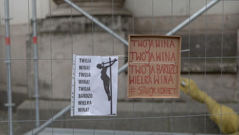 Protest po orzeczeniu Trybunalu Konstutucyjnego