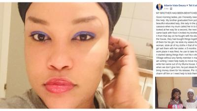 'Help, my brother has been bewitched'- Ghanaian woman begs  for ways to get rid of her sis-in-law