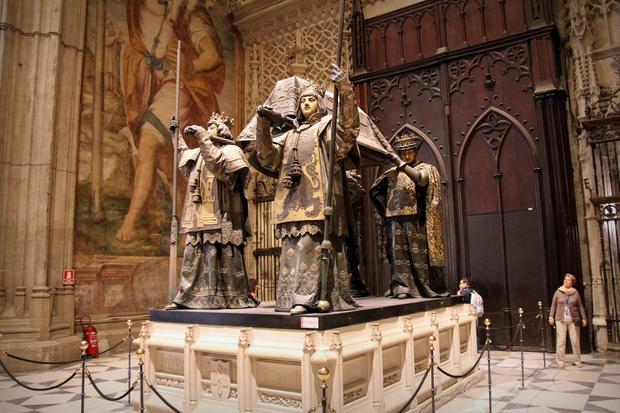 Grób Krzysztofa Kolumba w Sewilli