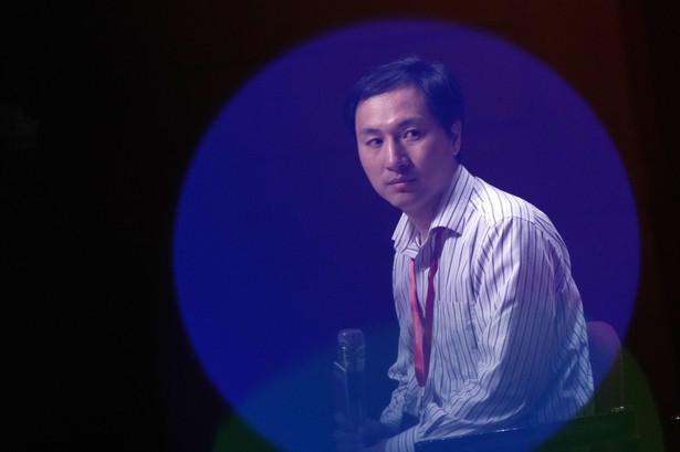 He Jiankui, fot. Anthony Kwan | Bloomberg