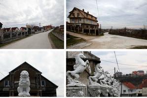 U najluksuznijem selu u Srbiji nema pijaće vode, puteva ni STANOVNIKA, a u raskošne vile uložene su STOTINE HILJADA EVRA (FOTO)