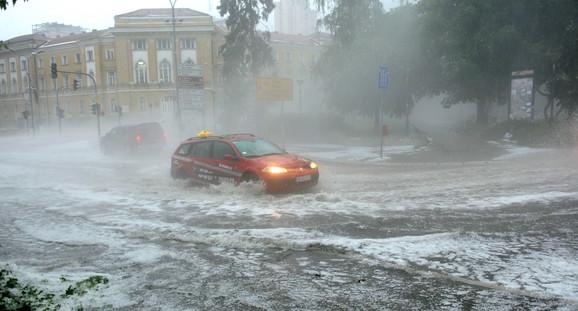 Potop na ulicama Užica