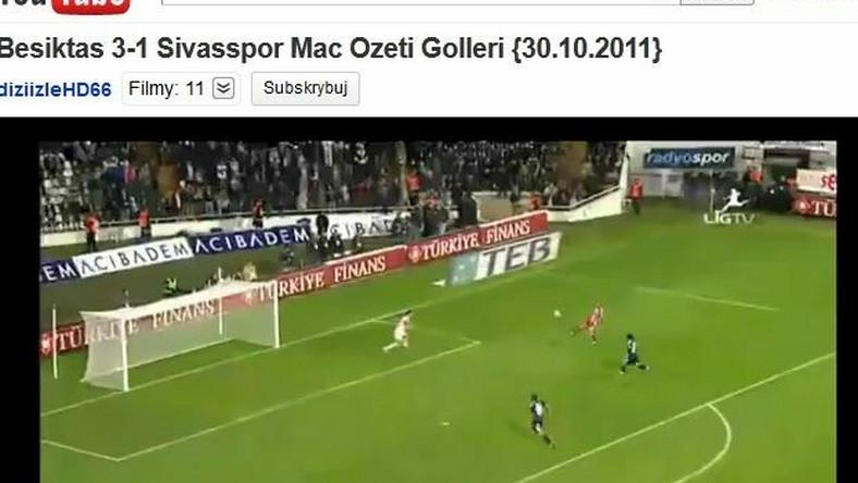 Kamil Grosicki strzela gola dla swojego klubu