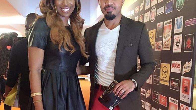 Bolanle Olakunni and Ramsey Nouah at the 2016 AYLive