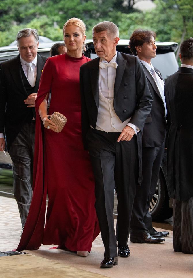 Andrej Babiš u društvu supruge Monike