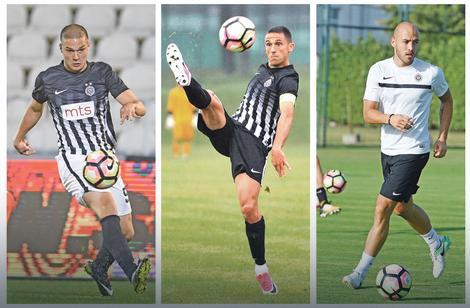 Đorđe Jovanović, Miroslav Vulićević i Nemanja Miletić