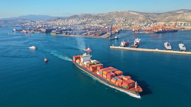 Grčka - Pirej luka