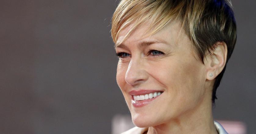 """Aktorka Robin Wright zagrała m.in. w serialu """"House of Cards"""""""