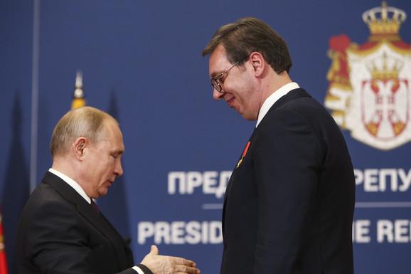 IZA KULISA PUTINOVE POSETE Ruski predsednik želi u dijalog o Kosovu ako uđe i Amerika