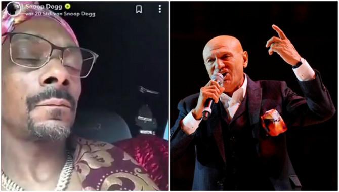 Snup Dog u kolima sluša Šabana Šaulića