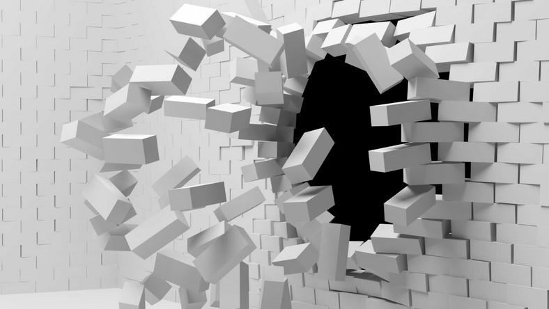 Wyburzanie ścian