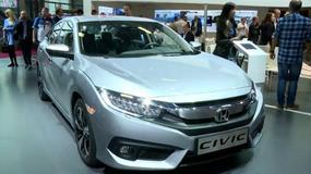 Honda Civic - japończyk zmienia styl (Targi Paryż 2016)