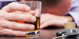 Pijany kierowca uciekał na piechotę