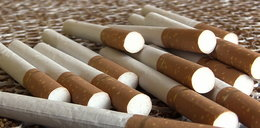 Tysiące nielegalnych fajek. Zobacz film