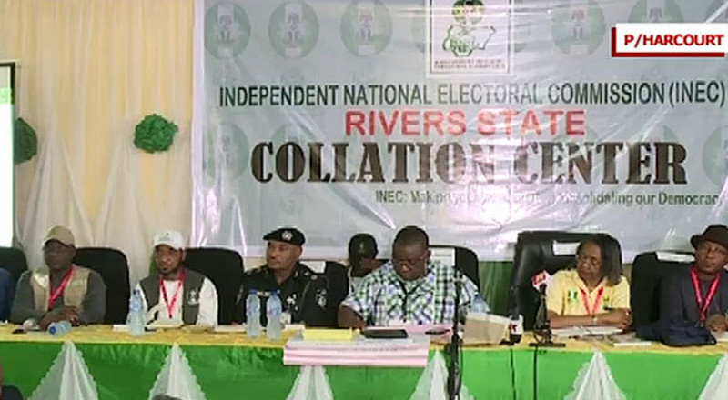 INEC suspends collation of governorship election results in Rivers State till Wednesday