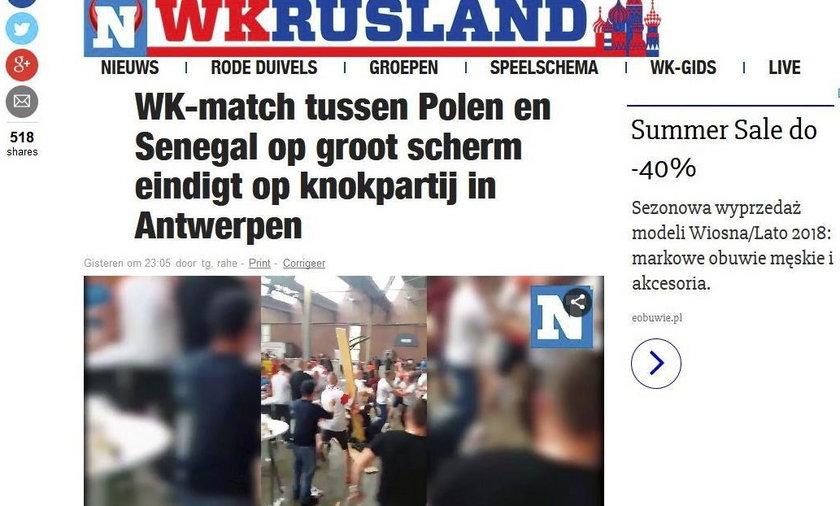 Skandal po meczu. Polscy kibice pobili się z Senegalczykami