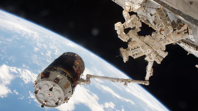 Porażka testu kosmicznej śmieciarki