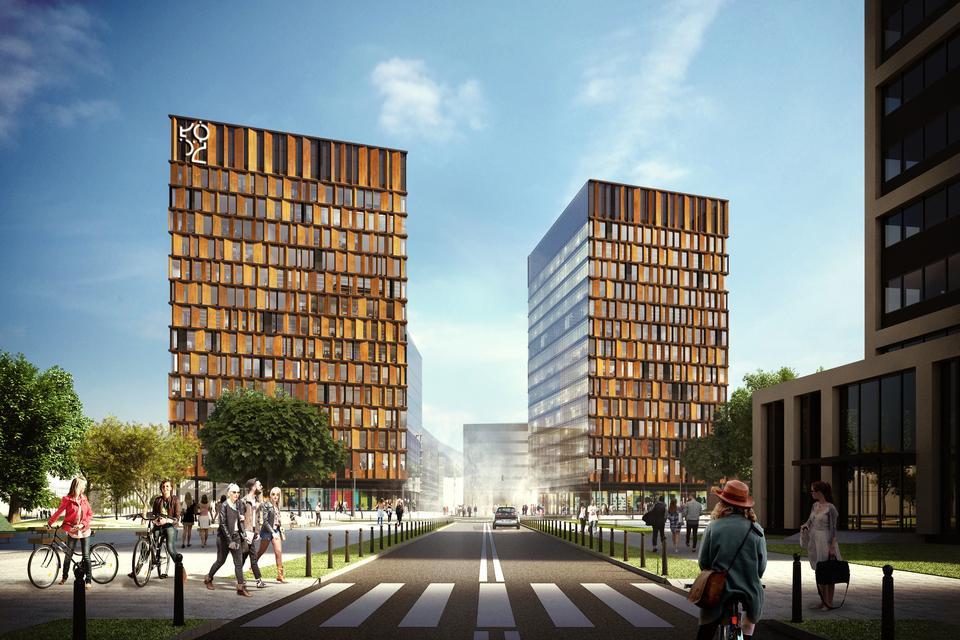 Brama Miasta to kompleks dwóch 14-piętrowych budynków przy ul. Kilińskiego w Łodzi. Ich łączna powierzchnia to 40 tys. mkw. Ma być otwarciem Nowego Centrum Łodzi, budującego nową przestrzeń miasta. Na 100 hektarach powstaną biurowce, mieszkania, obiekty kulturalne i handlowe, a także przestrzenie publiczne dostępne dla mieszkańców.