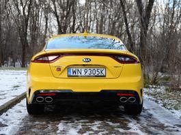 Kia Stinger V6 GT – najbardziej emocjonujące auto z Korei | TEST