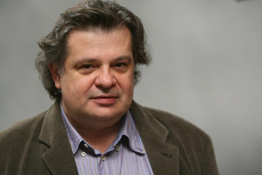 Krzysztof Globisz w listopadzie 2010 w Warszawie