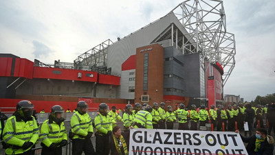 Man Utd fans launch fresh protest ahead of Liverpool clash