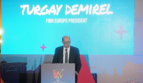 Turgaj Demirel, novi-stari predsednik FIBA Evrope