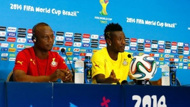 Kwesi Appiah and Asamoah Gyan