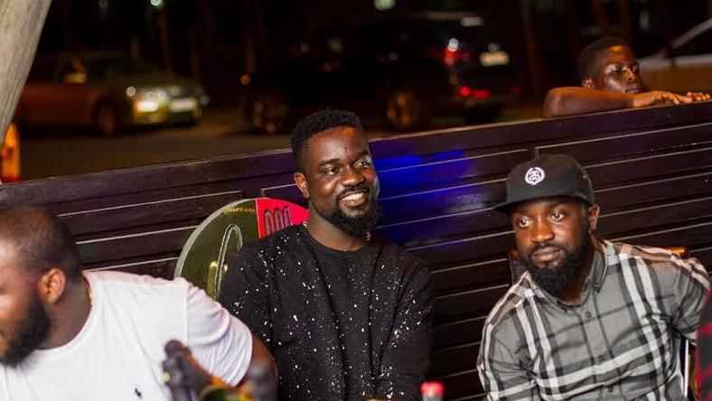 Sarkodie at the launch of AMOR COCINA restaurant