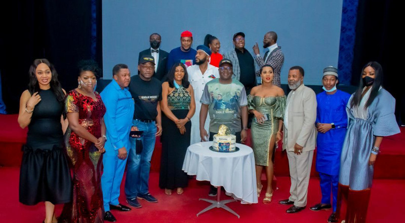 Nollywood and Nigerian military's film collaboration 'Eagles Wings' premieres in Abuja