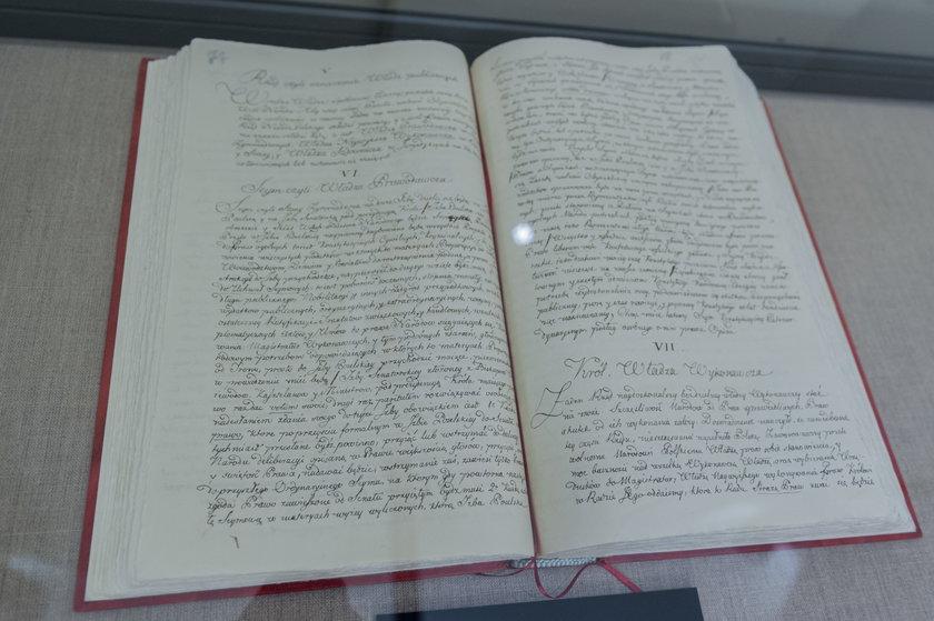 Konstytucja 3 maja uchwalona w 1791 roku