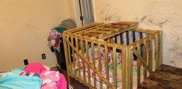 Horror pięciorga rodzeństwa. Matka i dziadkowie zamykali je w klatce. Najmłodsze dziecko miało 8 miesięcy, najstarsze 11 lat...