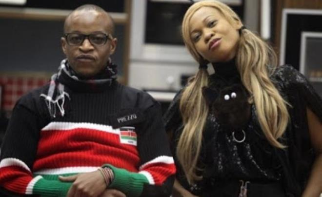 Prezzo and Goldie in the Big Brother House in 2012 [NollywoodGists]