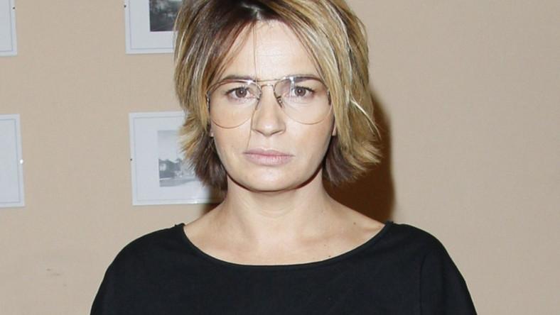 """Smutna i zmęczona - tak wyglądała aktorka na premierze sztuki """"Roman i Julia"""""""