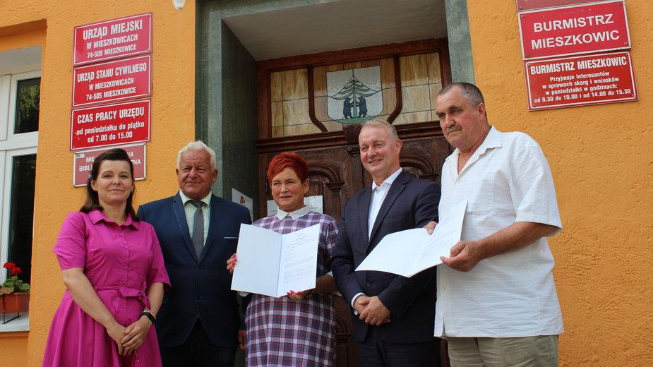 Dwa granty sołeckie dla Mieszkowic. Będą siłownie pod chmurką, fot: mieszkowice.pl