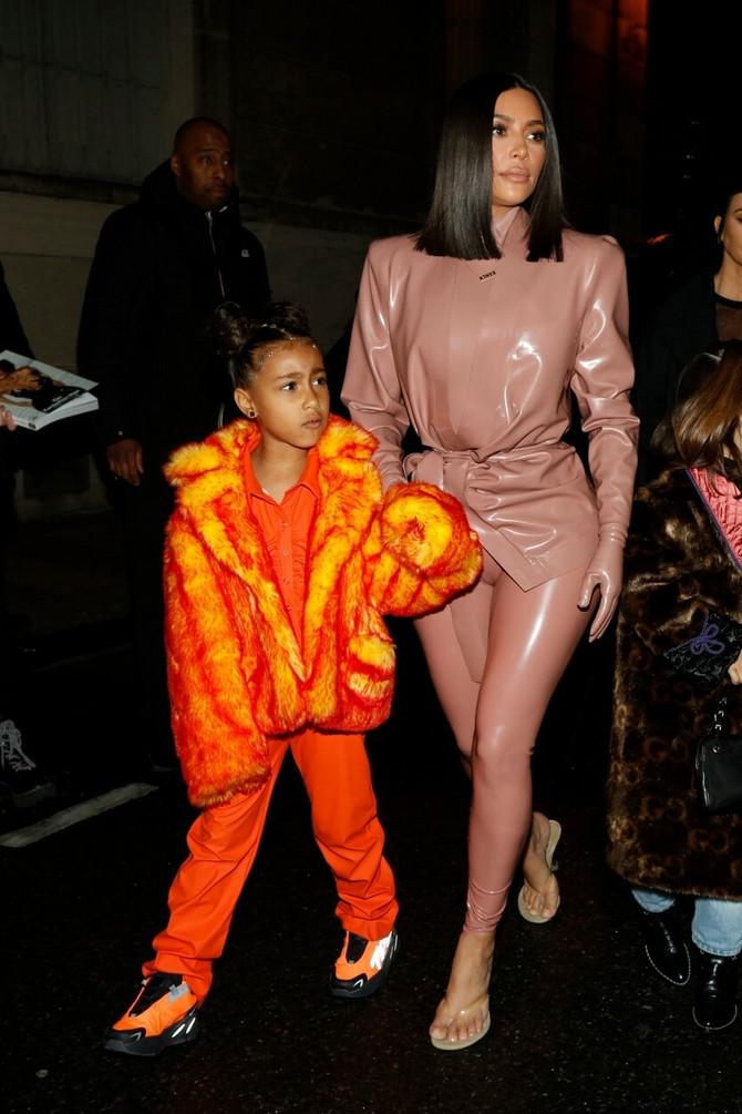 Kim Kardašijan sa ćerkom Nort