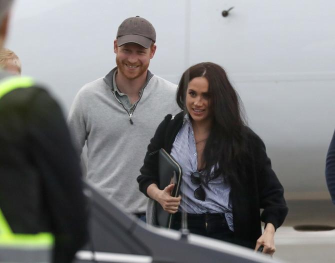 Megan i Hari nedavno u Kanadi
