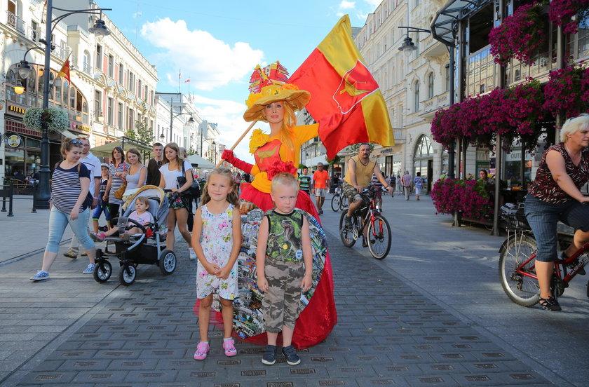 Łodzianie hucznie obchodzili 593. urodziny Łodzi
