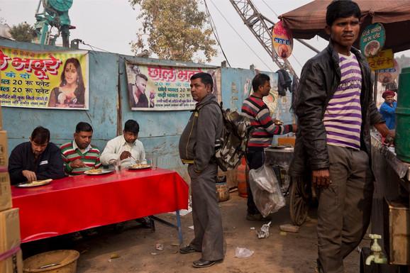 Nju Delhi - ilustracija