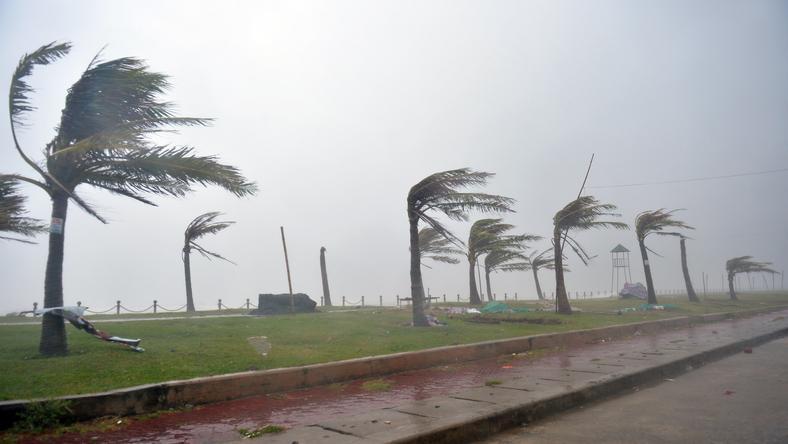 Do Wietnamu zbliża się tajfun Doksuri