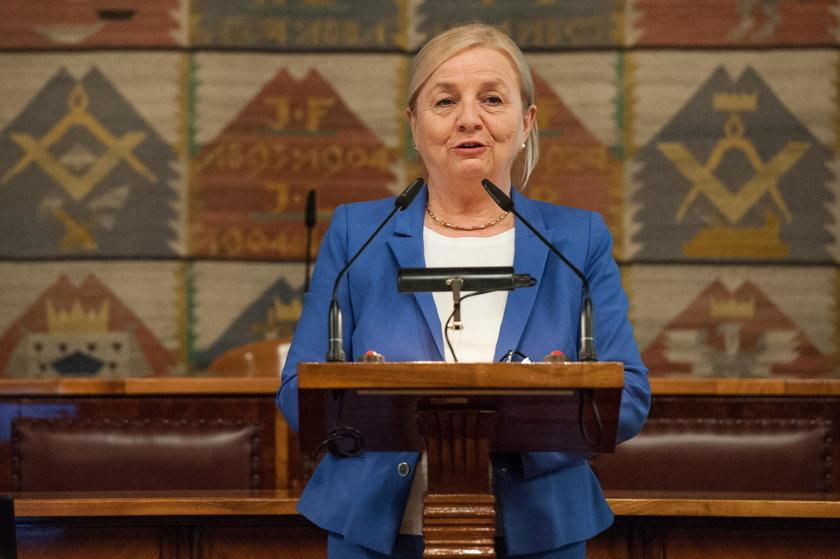 Prezydent Krakowa odwołał Elżbietę Koterbę