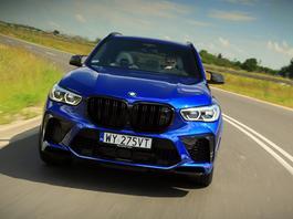 BMW X5 M Competition - czołg wyścigowo-użytkowy